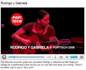 Rodrigo e Gabriela na PopTech06