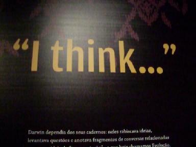 """""""Eu penso..."""""""
